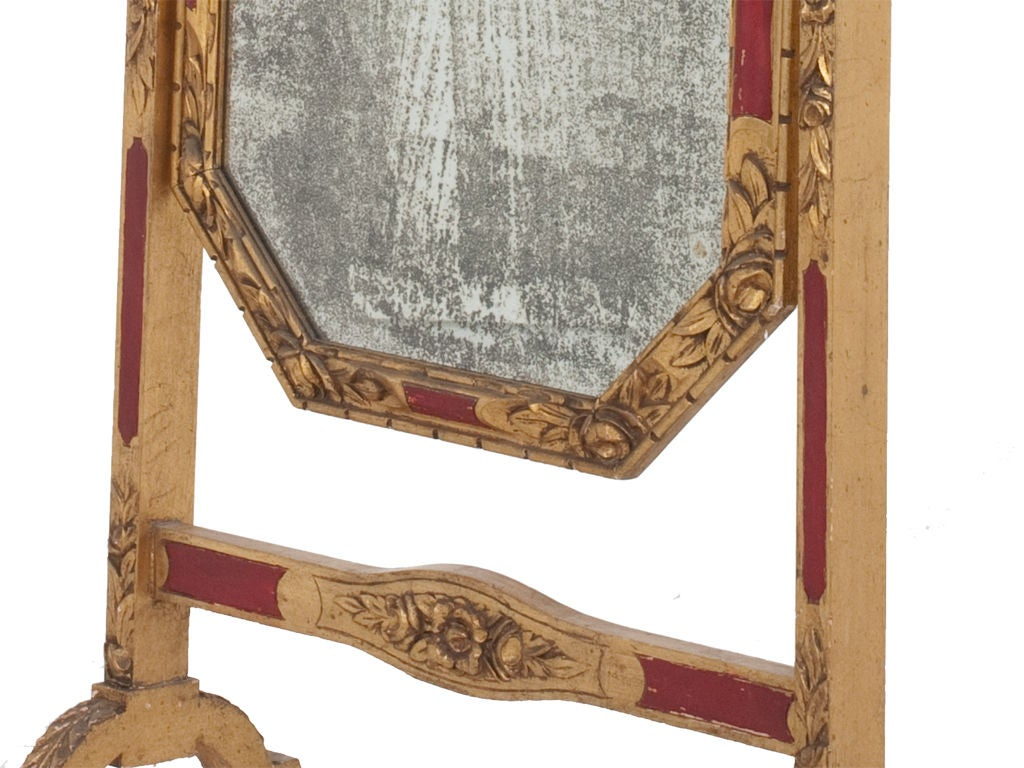 Antique cheval mirror at 1stdibs for Cheval mirror