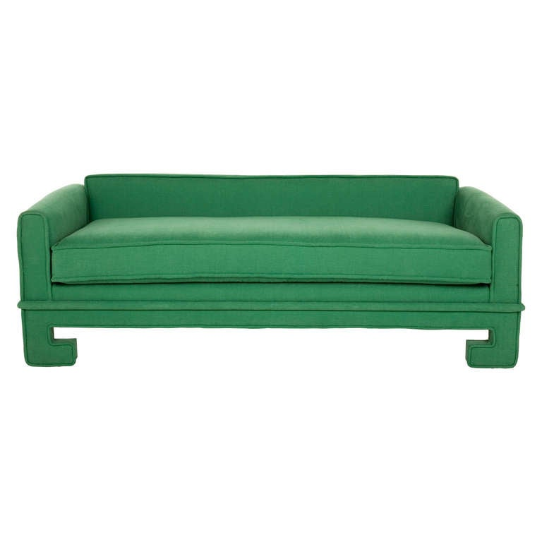 20th Century Vintage Chinoiserie Sofa / Daybed