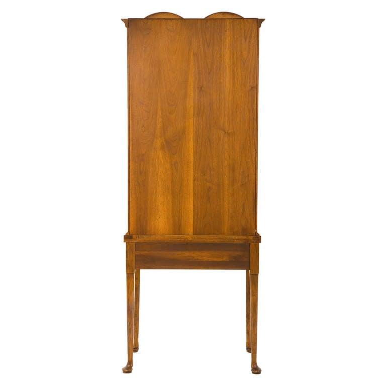 vintage mirrored secretary at 1stdibs. Black Bedroom Furniture Sets. Home Design Ideas