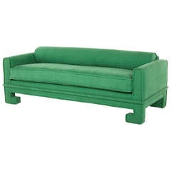Vintage Chinoiserie Sofa / Daybed