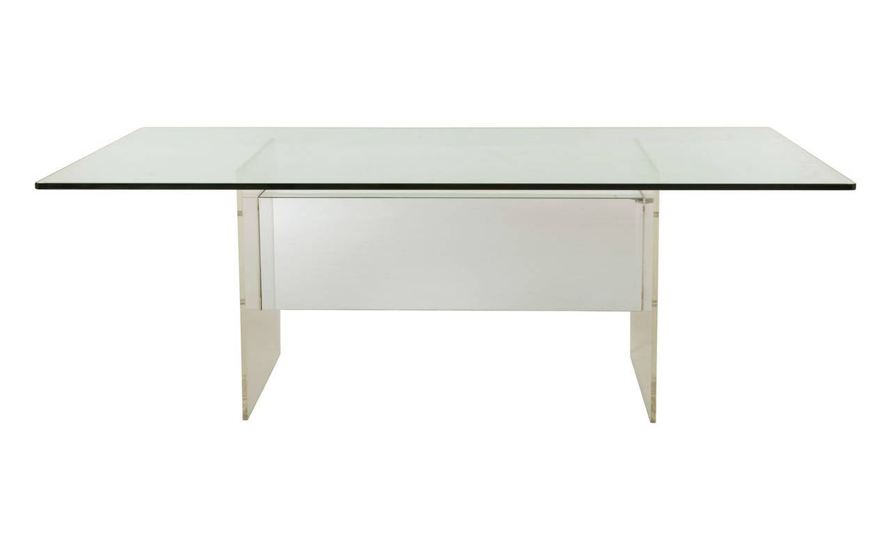 Vintage Lucite Dining Table At 1stdibs