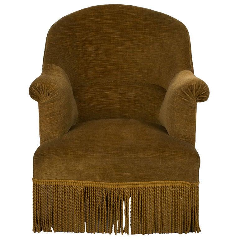 Vintage Art Deco Chair At 1stdibs
