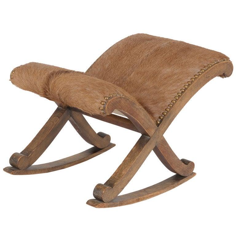 Vintage footstool at 1stdibs