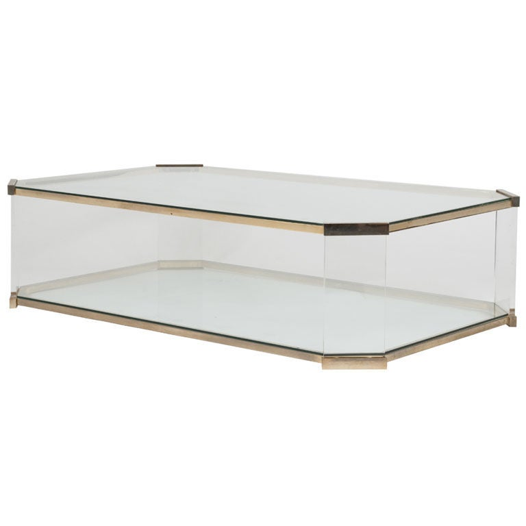 Vintage roche bobois table at 1stdibs Roche bobois coffee table