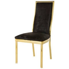 Vintage Brass Dining Chair