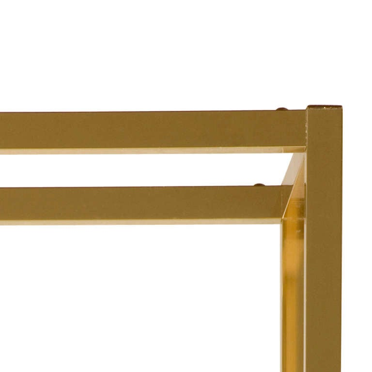Vintage Brass Etagere In Good Condition For Sale In Chicago, IL