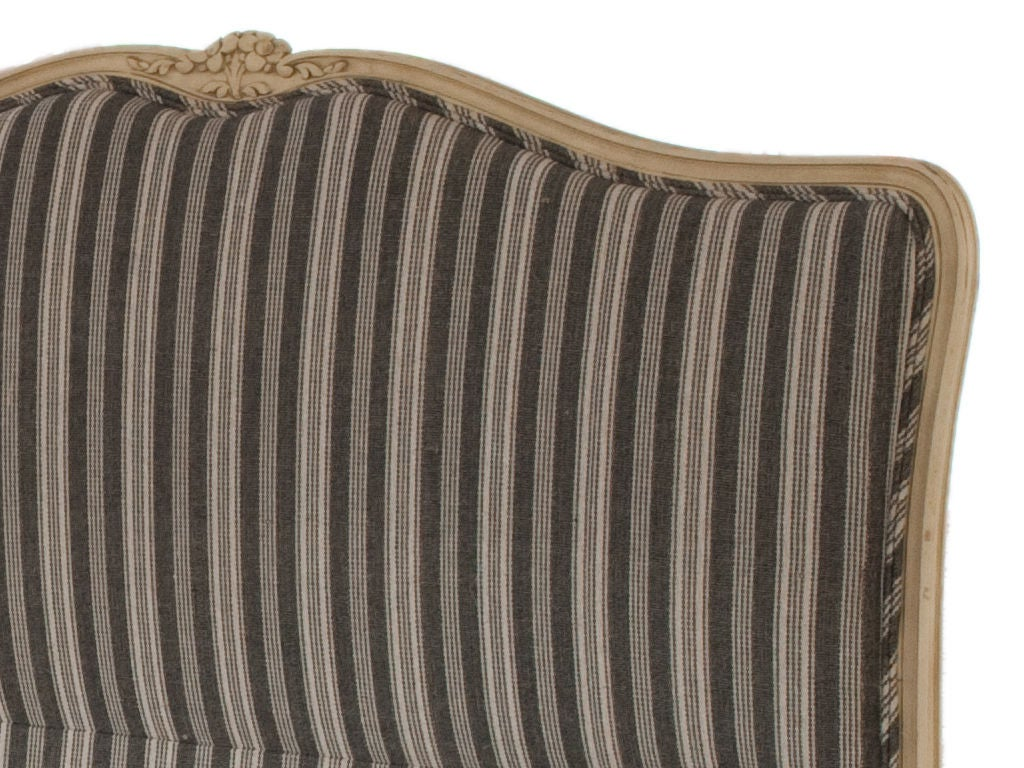 Antique Louis XV Upholstered Bed image 2