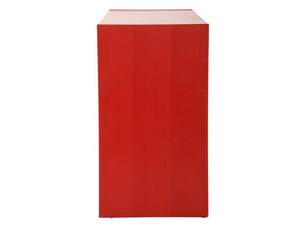 Vintage Red Dresser 4