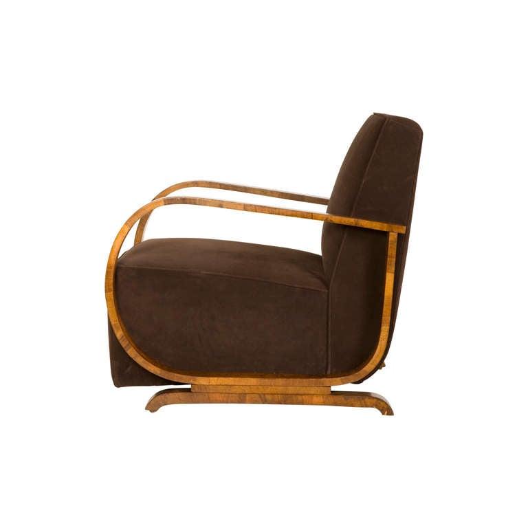 Vintage Art Deco Armchair at 1stdibs
