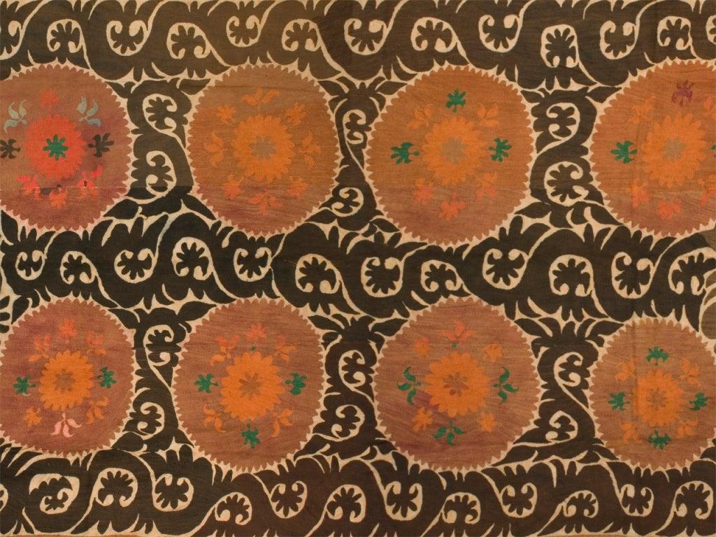 Uzbek Large Vintage Suzani