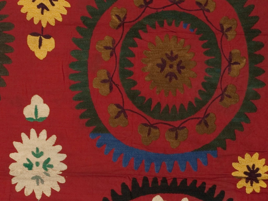 Uzbek Vintage Suzani