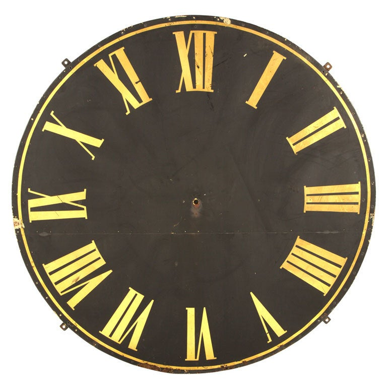 Antique Clock Face At 1stdibs