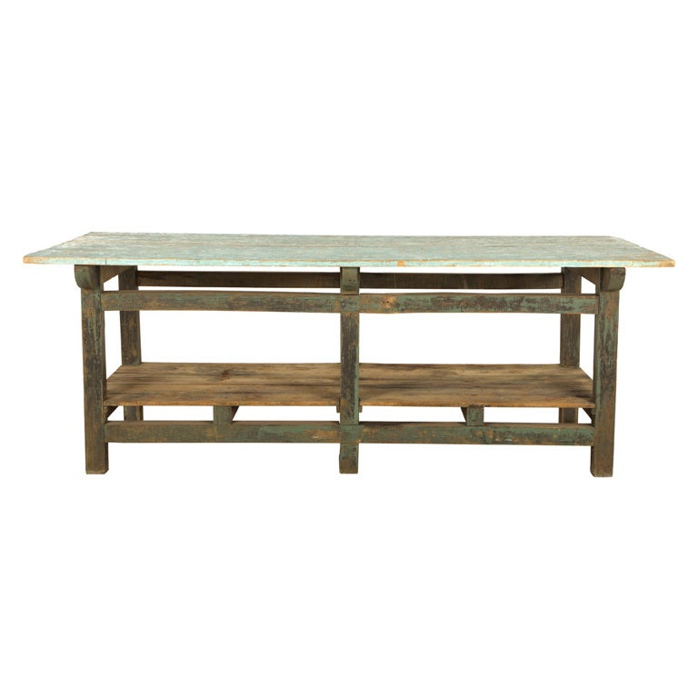 Antique Work Table At 1stdibs