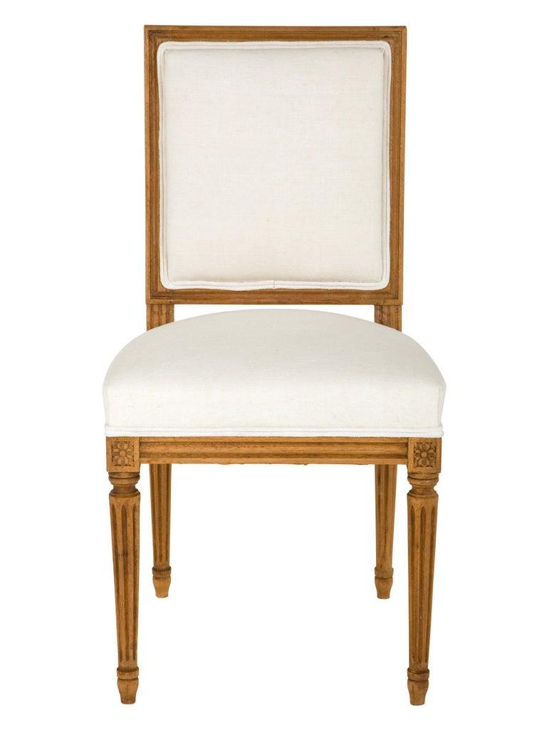 Antique louis xvi chair - Antique Louis Xvi Dining Chair 2