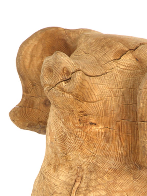 Antique carved wood pig at stdibs