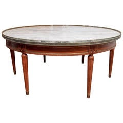 19th Century  Bouillotte Coffee Table