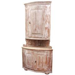 19th Century French Corner Cabinet