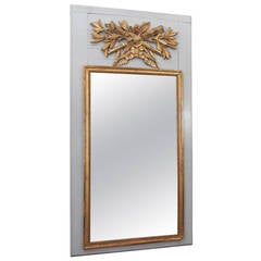 19th Century Trumeau Mirror
