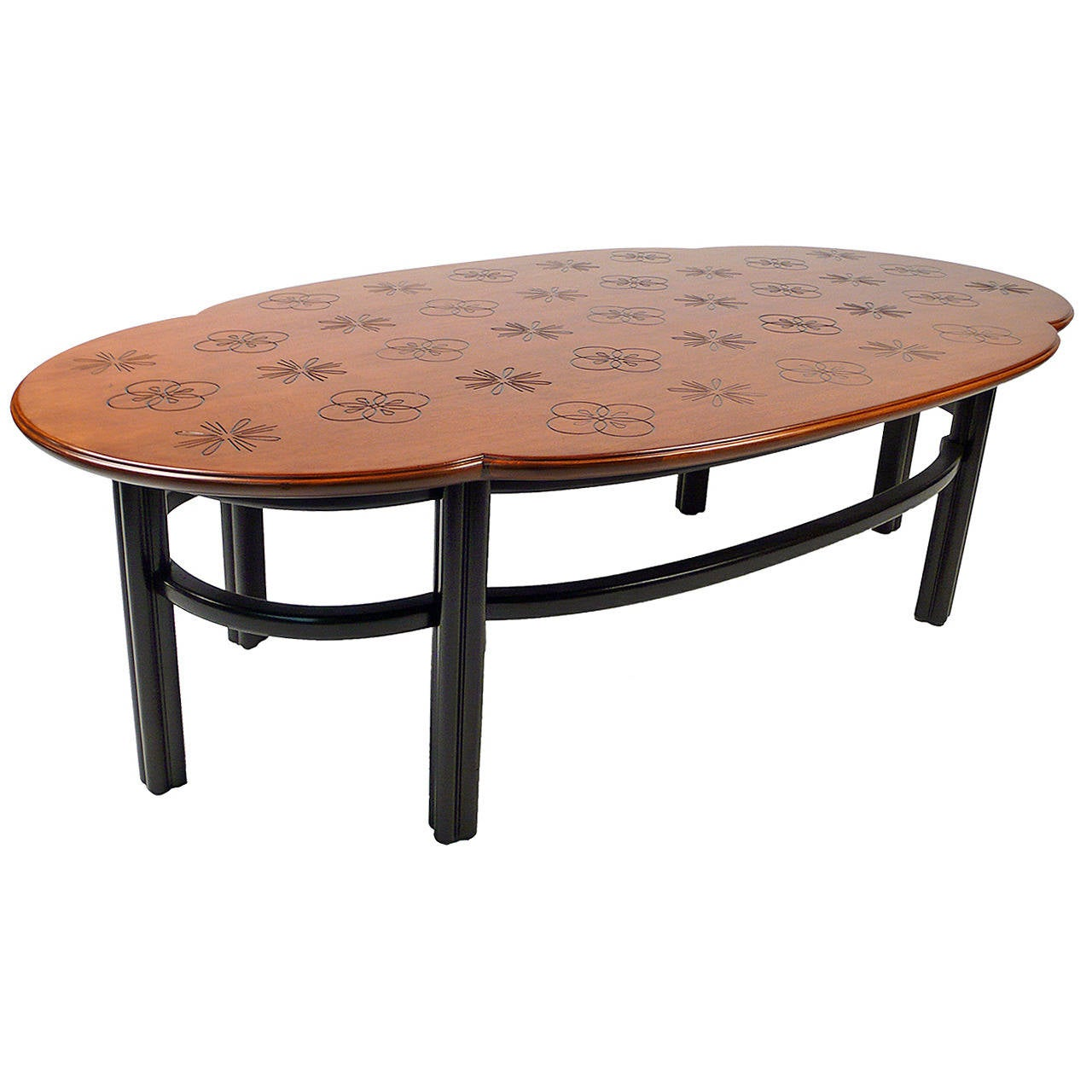 Baker coffee table for sale at 1stdibs Baker coffee table