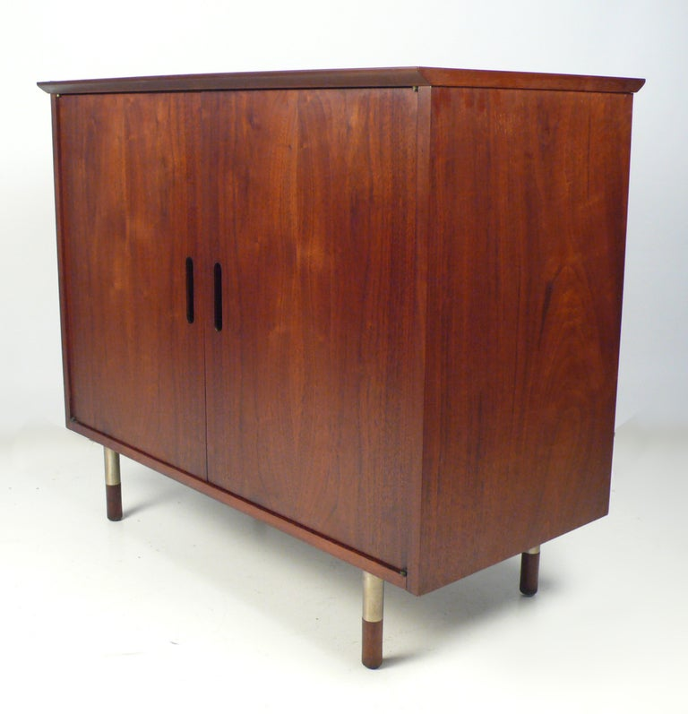 Walnut Jack Cartwright for Founders Cabinet For Sale