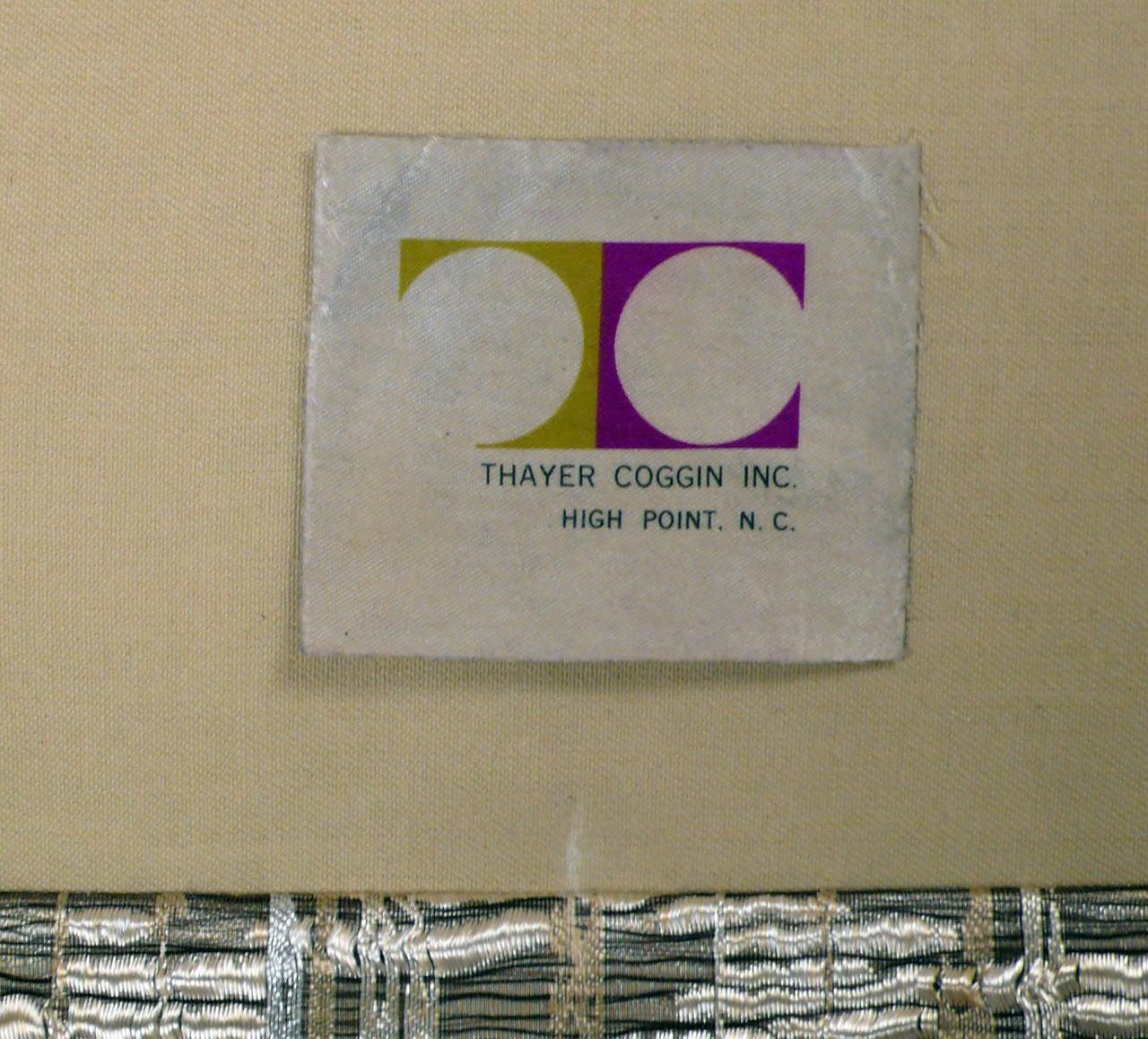 Milo Baughman for Thayer Coggin Settee For Sale 3