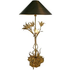 Serpent and Frog Lamp