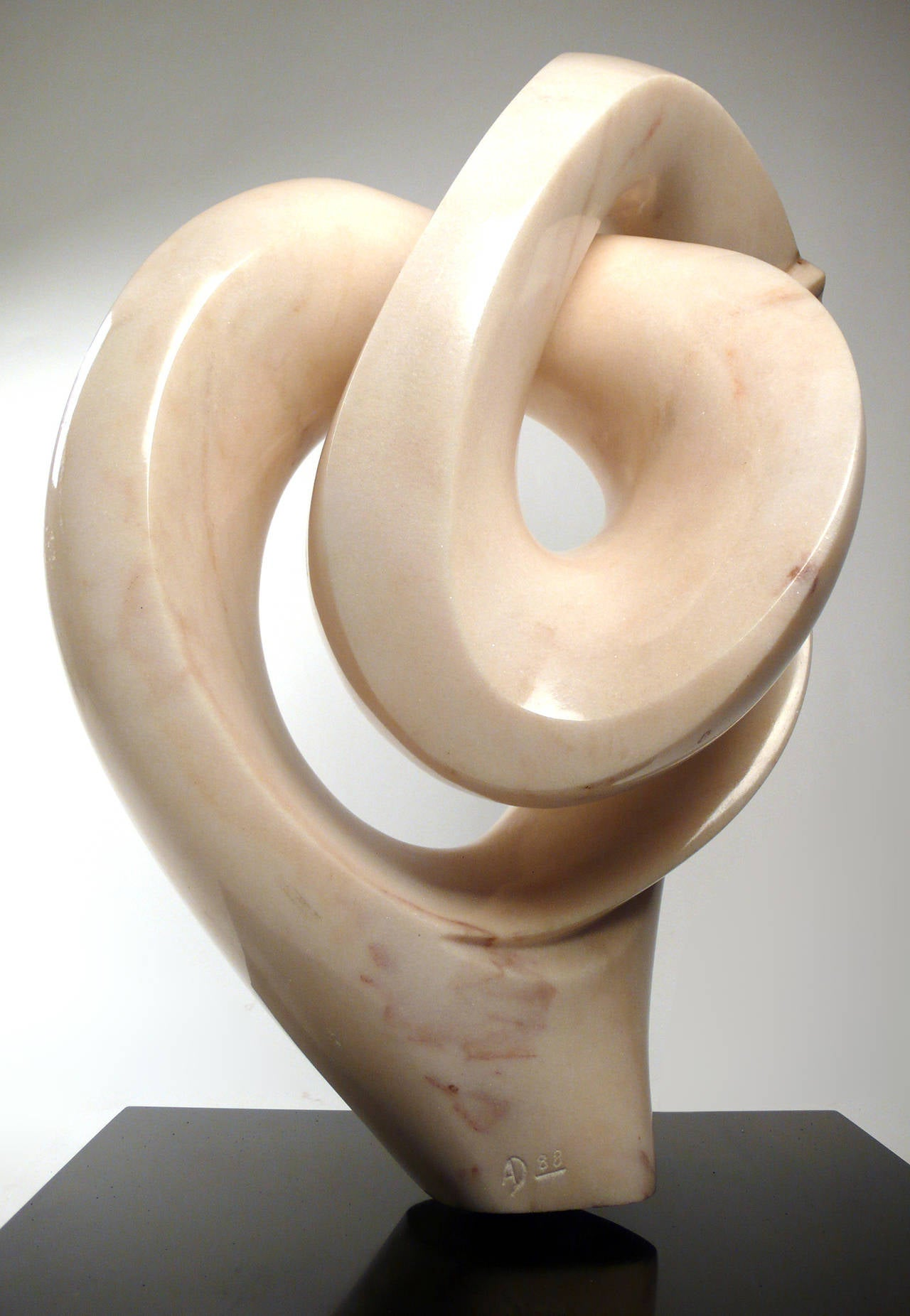 Modern Abstract Marble Sculpture  For Sale