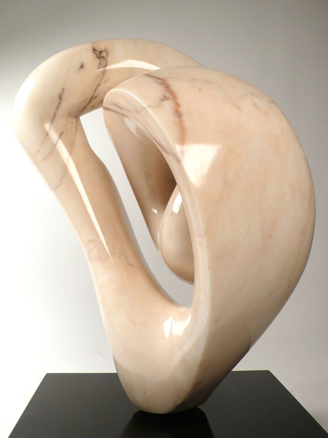 American Abstract Marble Sculpture  For Sale