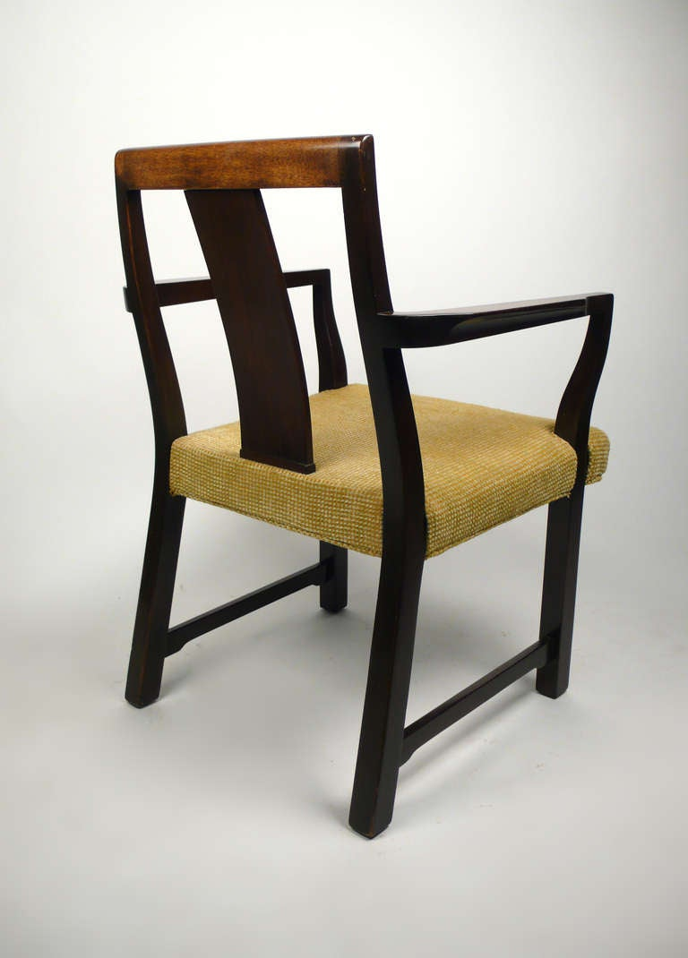 American 4 Dunbar Dining Chairs by Edward Wormley For Sale