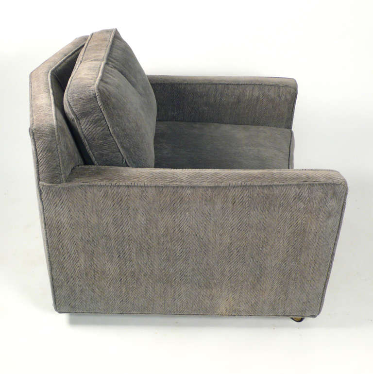 Mid-20th Century  Club Chairs by Harvey Probber For Sale