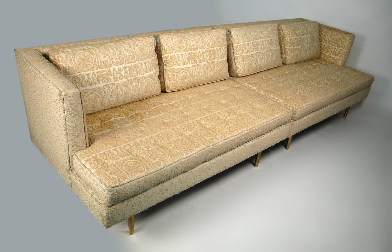 Mid-Century Modern Edward Wormley for Dunbar Even Arm Sofa or Settees For Sale
