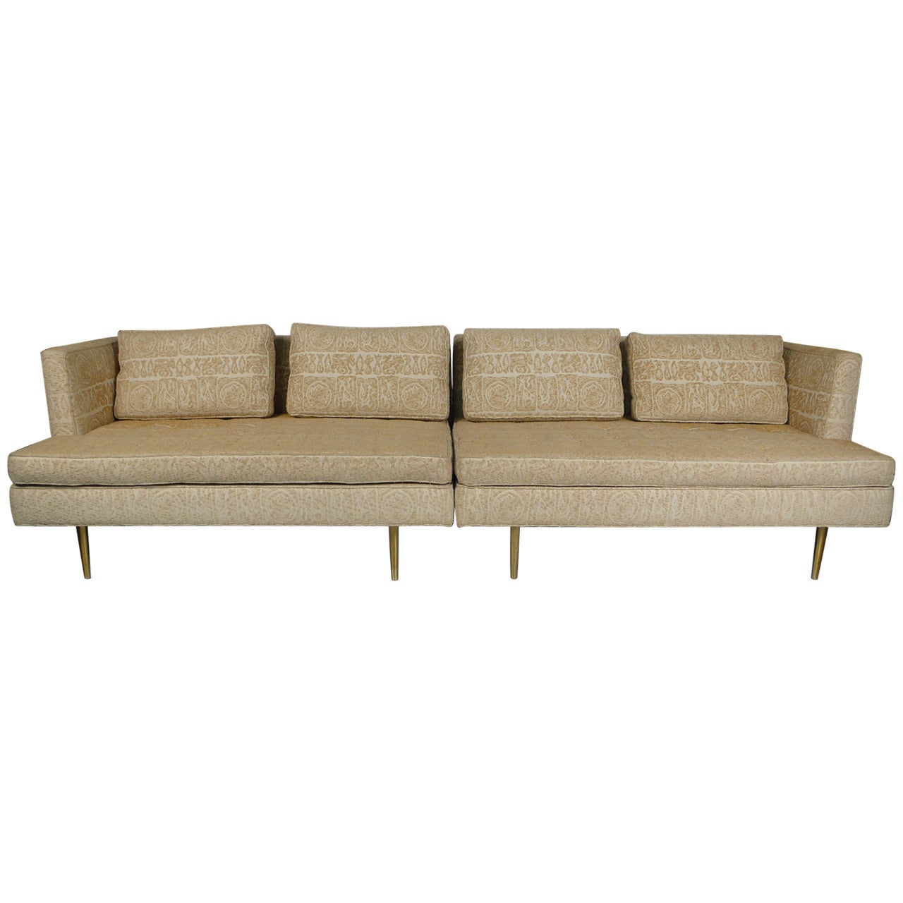 Edward Wormley for Dunbar Even Arm Sofa or Settees