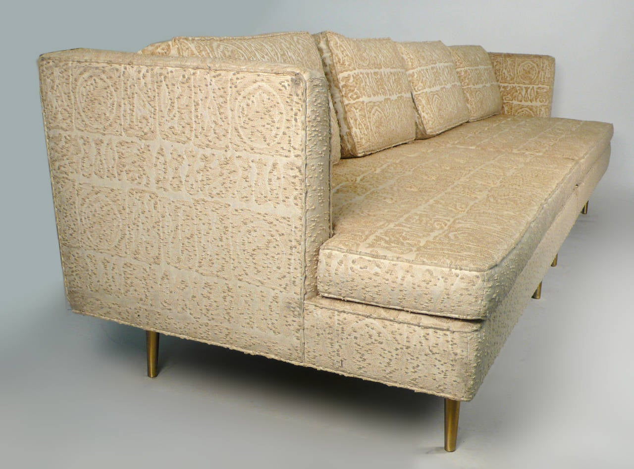Edward Wormley for Dunbar Even Arm Sofa or Settees In Good Condition For Sale In Dallas, TX