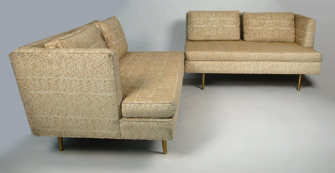 Mid-20th Century Edward Wormley for Dunbar Even Arm Sofa or Settees For Sale