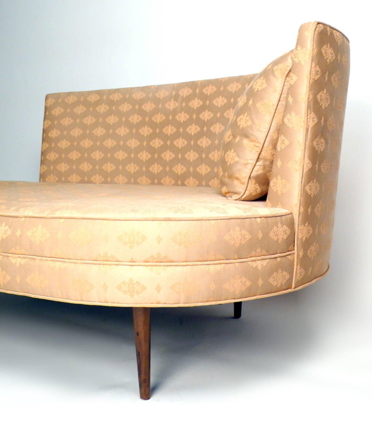 Harvey Probber Recamier Chaise At 1stdibs