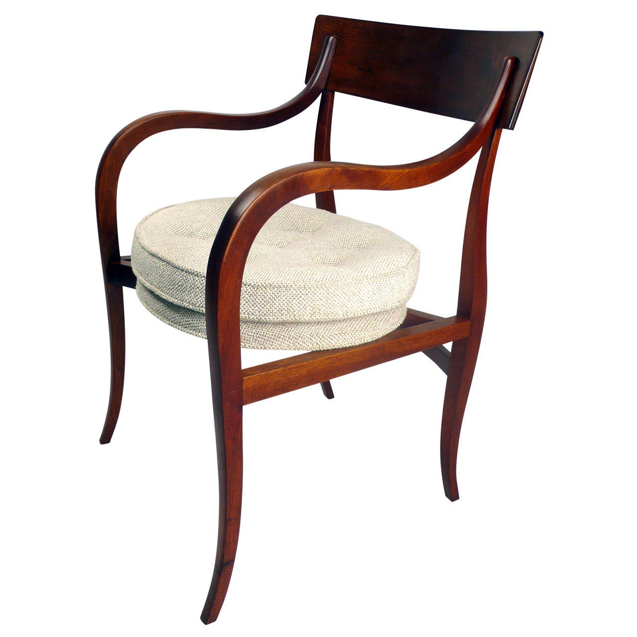 Edward Wormley for Dunbar Alexandria chair, 1950s, 20CDesign.com