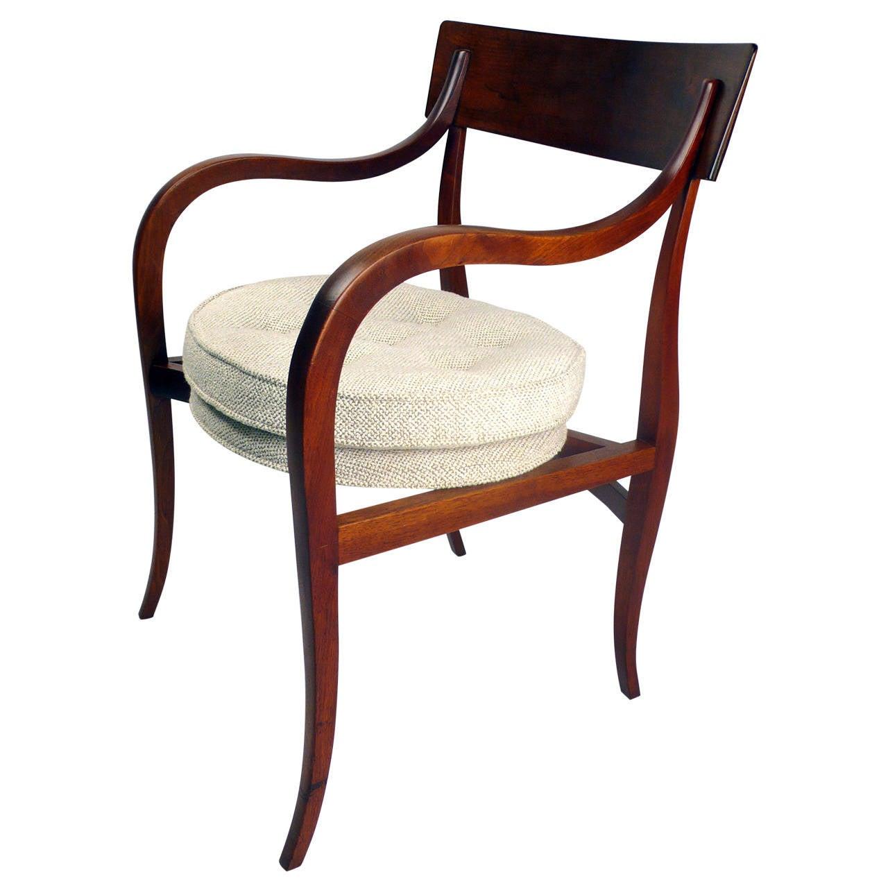 Edward wormley alexandria chair at 1stdibs - Edward wormley chairs ...