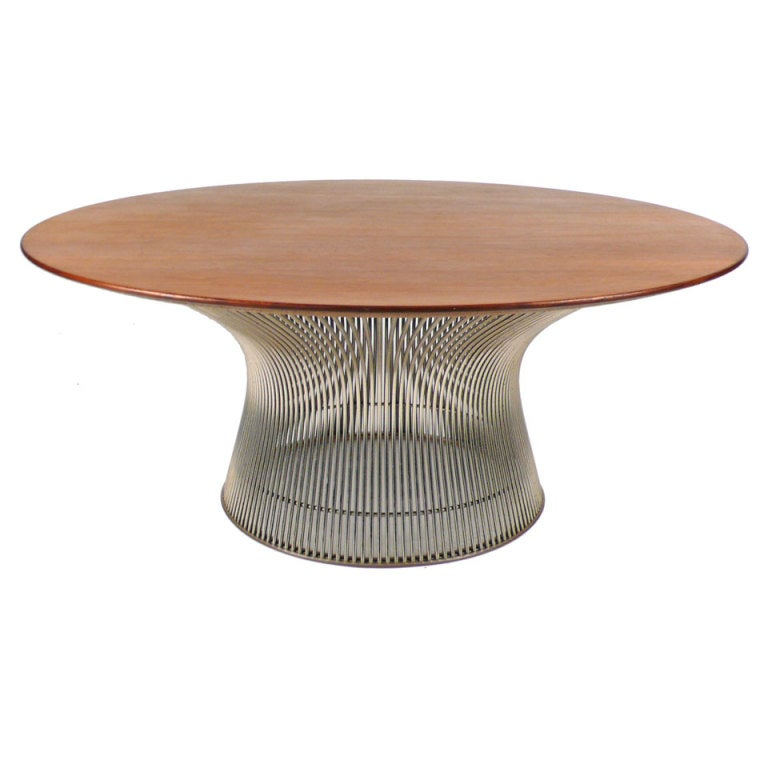 Cocktail table by warren platner for sale at 1stdibs for Warren platner coffee table