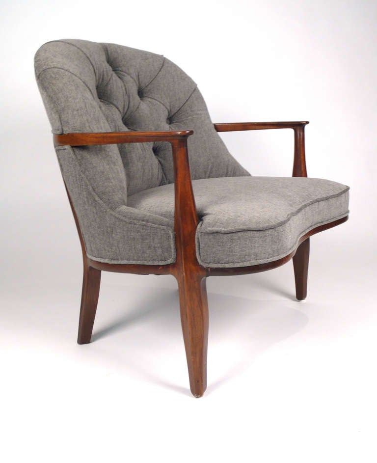 Edward wormley for dunbar janus chair at 1stdibs - Edward wormley chairs ...