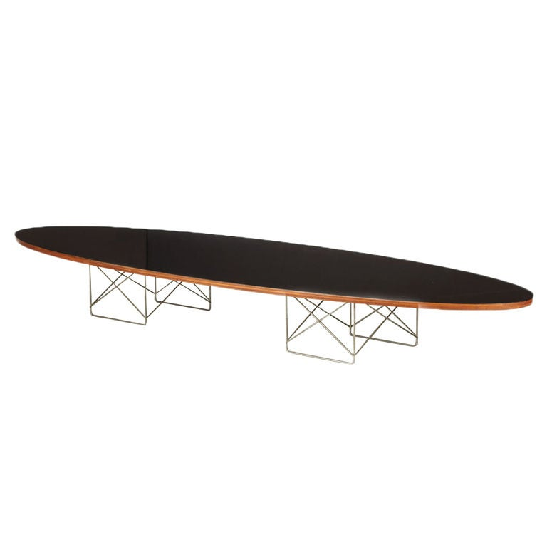 early charles eames surfboard table at 1stdibs. Black Bedroom Furniture Sets. Home Design Ideas