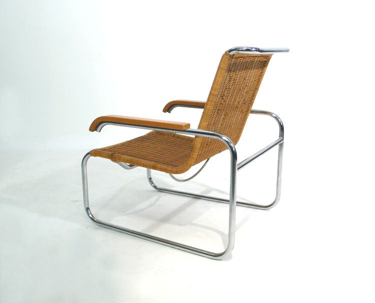 B35 Lounge Chair designed by Marcel Breuer at 1stdibs