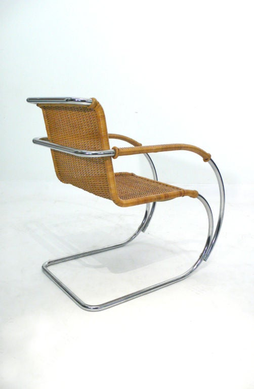mr20 lounge chair by ludwig mies van der rohe at 1stdibs. Black Bedroom Furniture Sets. Home Design Ideas