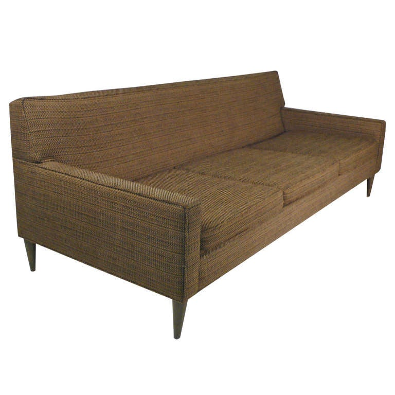 Petite 1960s Sofa Attributed To Paul McCobb For Sale
