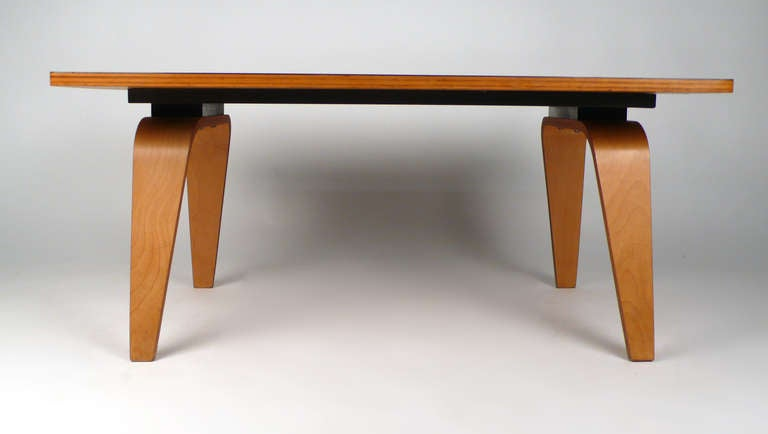 Early Eames Otw Coffee Table At 1stdibs