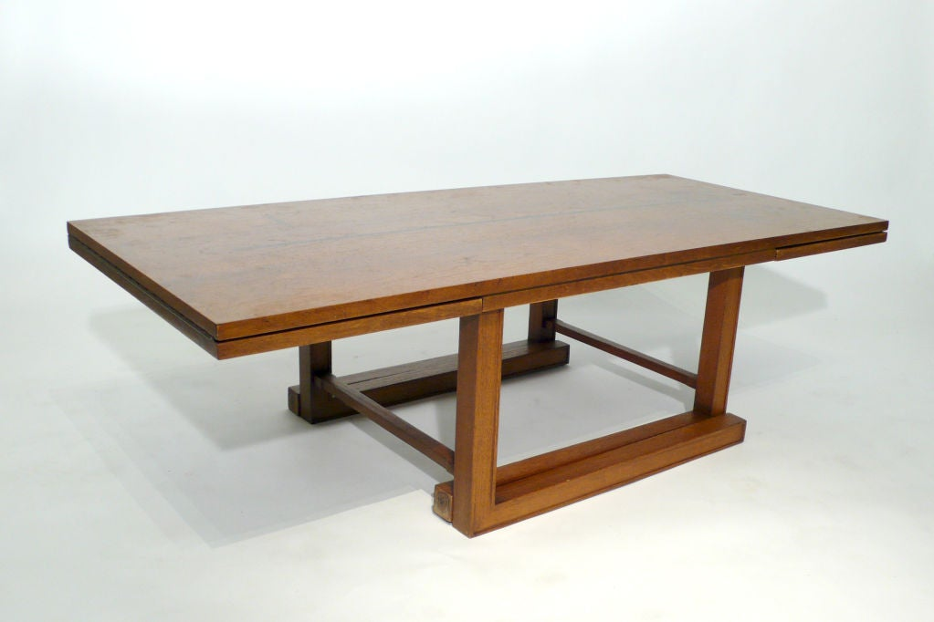 Dunbar Convertible Coffee and Serving Table 2