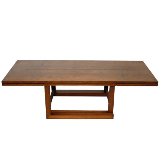 Dunbar convertible coffee serving table at 1stdibs - Transformable coffee table ...