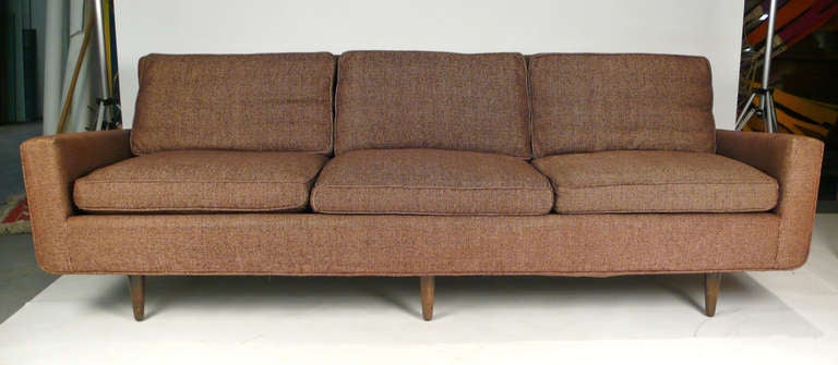 Early florence knoll down filled sofa at 1stdibs - Florence knoll sofa gebraucht ...