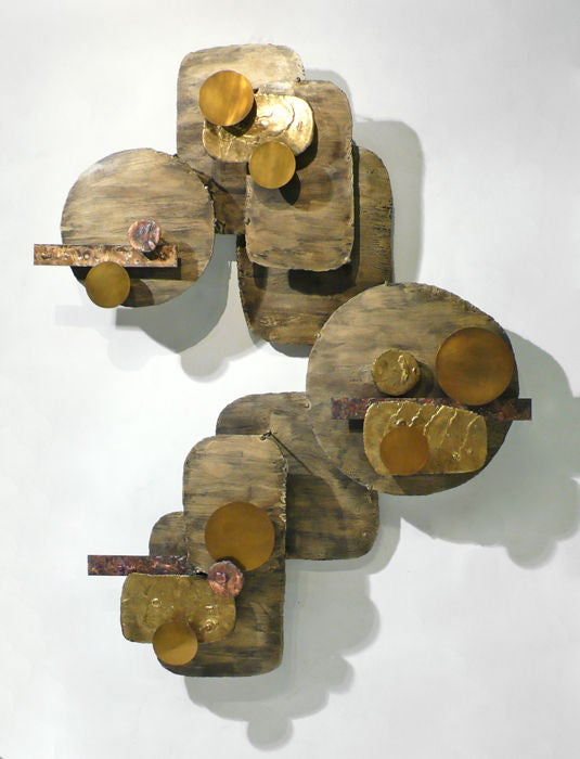 Monumental Stuart Mathews Wall Sculpture image 3