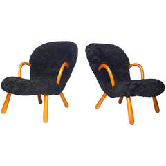 Blacksheep Philip Arctander 'Muslingstole' Chairs