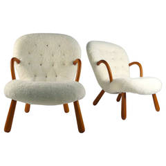 Pair of Philip Arctander 'Muslingstole' Chairs